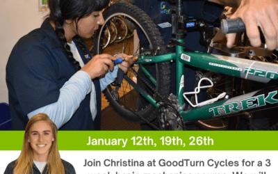 GoodTurn Cycles Women's Basic Mechanics Course